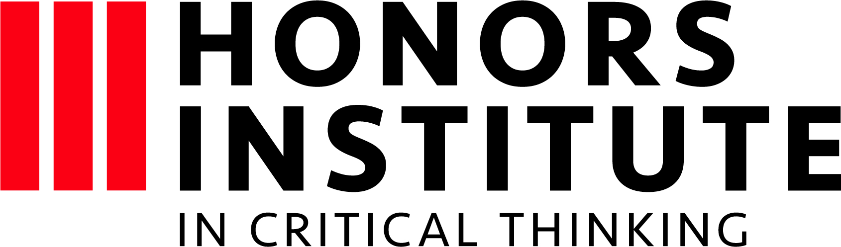 Honors Institute in Critical Thinking logo